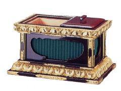 須弥型角香炉(048-12)