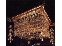 宝相華四角型人天蓋(055-04)