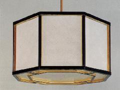 平安型(八角)吊灯籠【一対】(066-04)