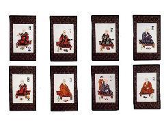 八祖大師額装(073-03)