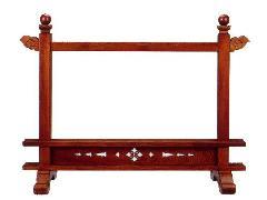 塔婆立彫ナシ【一対】(088-09)