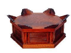 六角型木魚台(093-01)