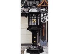 八角型外置灯籠【一対】(100-03)