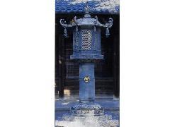 芳林寺型(八角)外置灯籠【一本】(100-05)