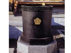 桶型天水桶【一対】(104-01)