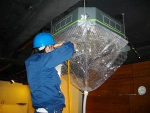 熱交換器殺菌作業