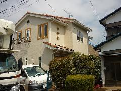 茨城県つくばみらい市 新築の外壁工事