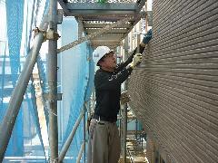 つくば市 新築住宅の外壁工事