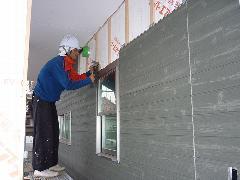 つくばみらい市 住宅 壁 窯業系サイディング施工