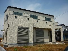 つくばみらい市 新築住宅 外壁工事