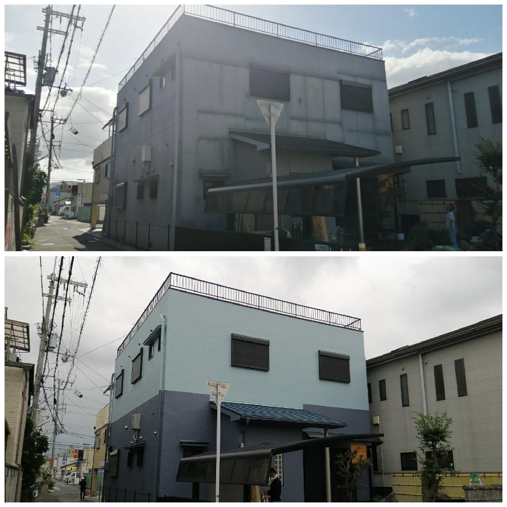 大阪市 東住吉区 ケースリー 工務店 外壁塗装 シーリング