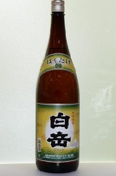 白岳 米 25度 1.8L