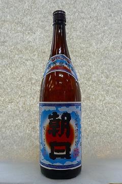 朝日 黒糖焼酎 30度 1.8L瓶
