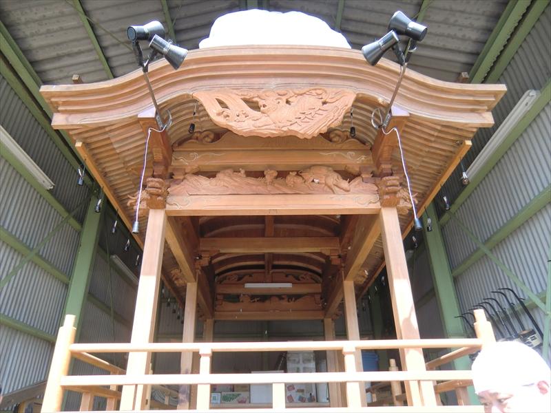 屋台のオーバーホール