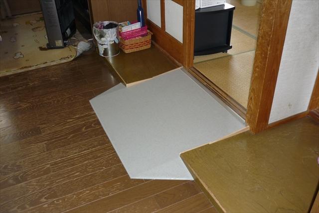 室内スロープ工事