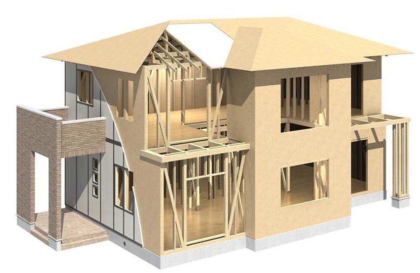 外断熱パネル+屋根パネル