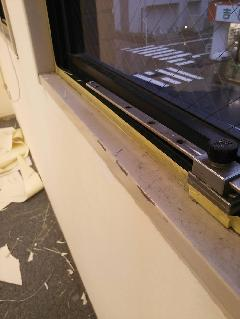 渋谷 窓廻り塗装工事