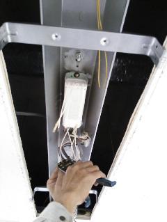 日本橋 貸しビル 照明器具安定器交換