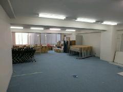 渋谷 テナントビル 間仕切り工事 スチールパーティション