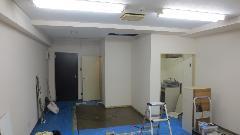 品川区 テナントビル 衛生設備工事 洗面台交換