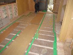 板橋区 戸建 床工事 床暖房設置