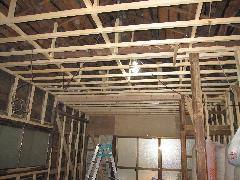 杉並区 戸建  木工事