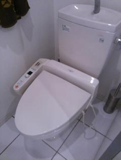 中央区 マンション トイレ交換