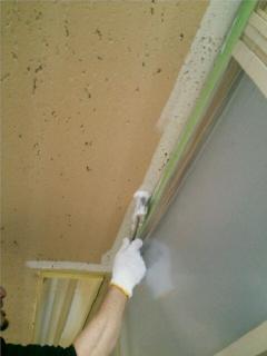 横浜市 オフィスビル 塗装工事 天井塗装