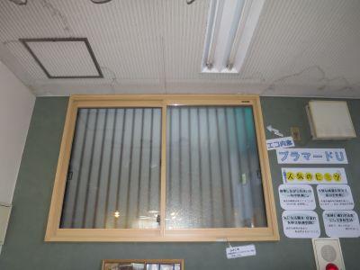 店舗内 内窓