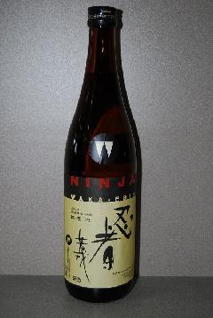 忍者 若戎 純米酒 720ml