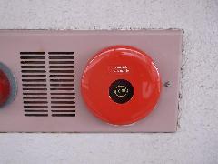 大宮の物件で自動火災報知設備の発信機を2個交換