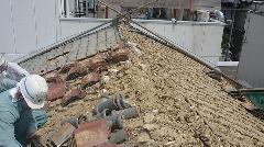 京都市内の町家家屋手こぼち解体