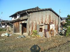 京都府 八幡市 木造二階建て家屋解体工事