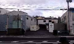 大津 電子部品工場2棟 解体工事