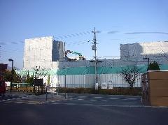亀岡団地解体工事
