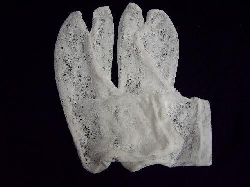 レース足袋(白)