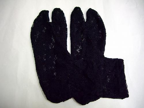 レース足袋(黒)