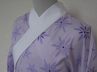 ポリエステル長襦袢 (紫色)