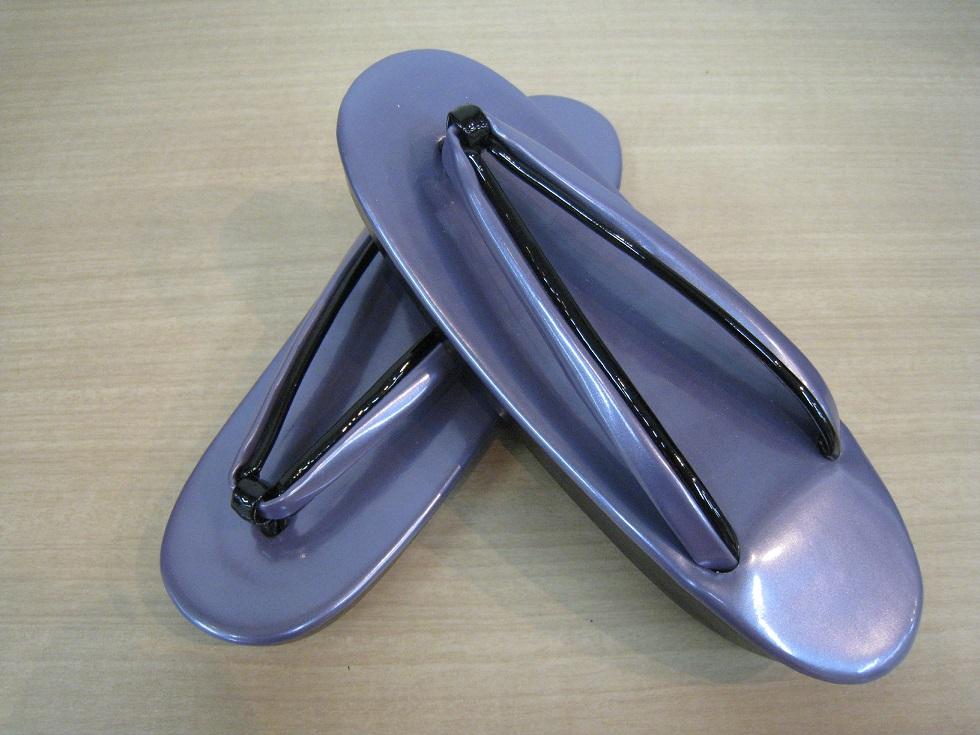 ウレタン草履 薄紫