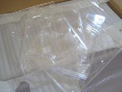 プラスチックのCDケース