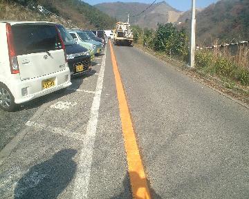 安全通路を溶融式ラインではっきりクッキリ明確に安全に!!
