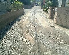 私道の舗装