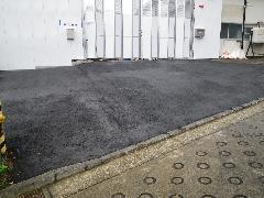 資材置き場の舗装