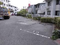 マンション駐車場 ライン引き直し
