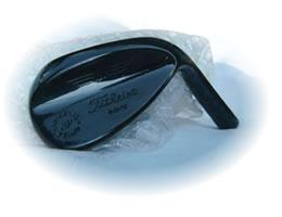 ゴルフヘッドの黒染め処理