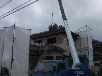 温水器・瓦の撤去