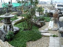 和風庭園の設計施工