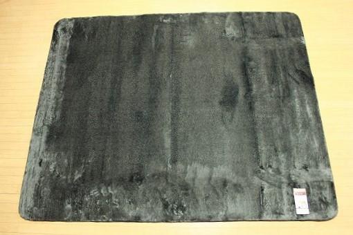 特価ラグ ロングファー ブラック 200�×250�
