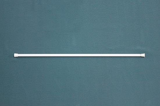 カフェカーテン用の突っ張り棒(伸縮タイプ)です。 ホワイト