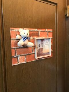 子供部屋 扉面